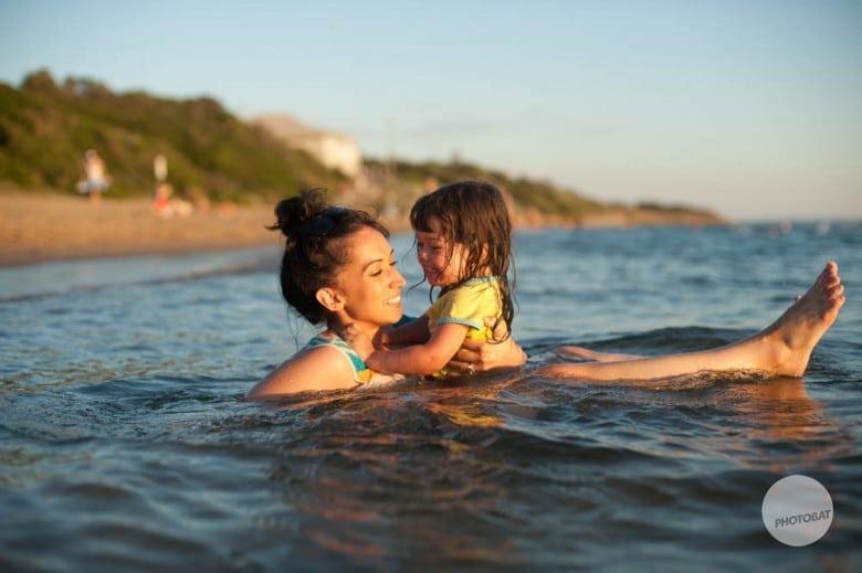 My Girls | Family Portrait Black Rock Beach