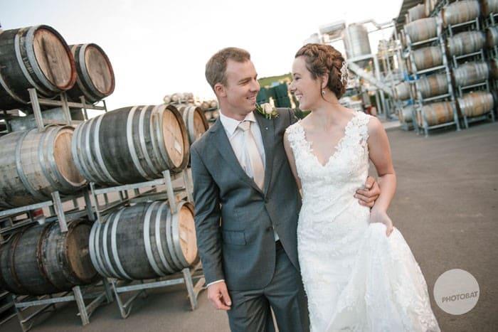 Brad and Jess | Wedding Photography Josef Chromy Vineyard