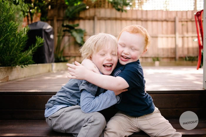 Heath and Archie | Brighton Melbourne Children Portrait Photography