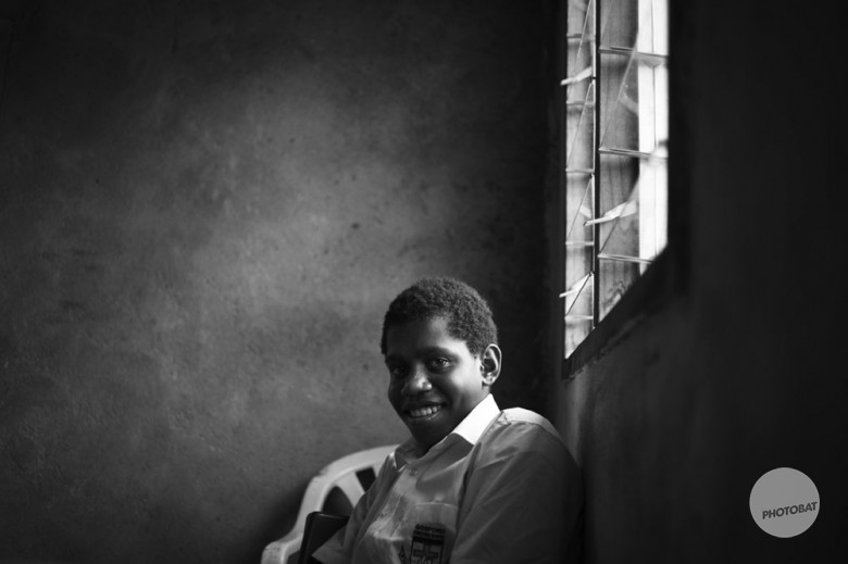 School Boy Vanuatu | Black and White Challenge