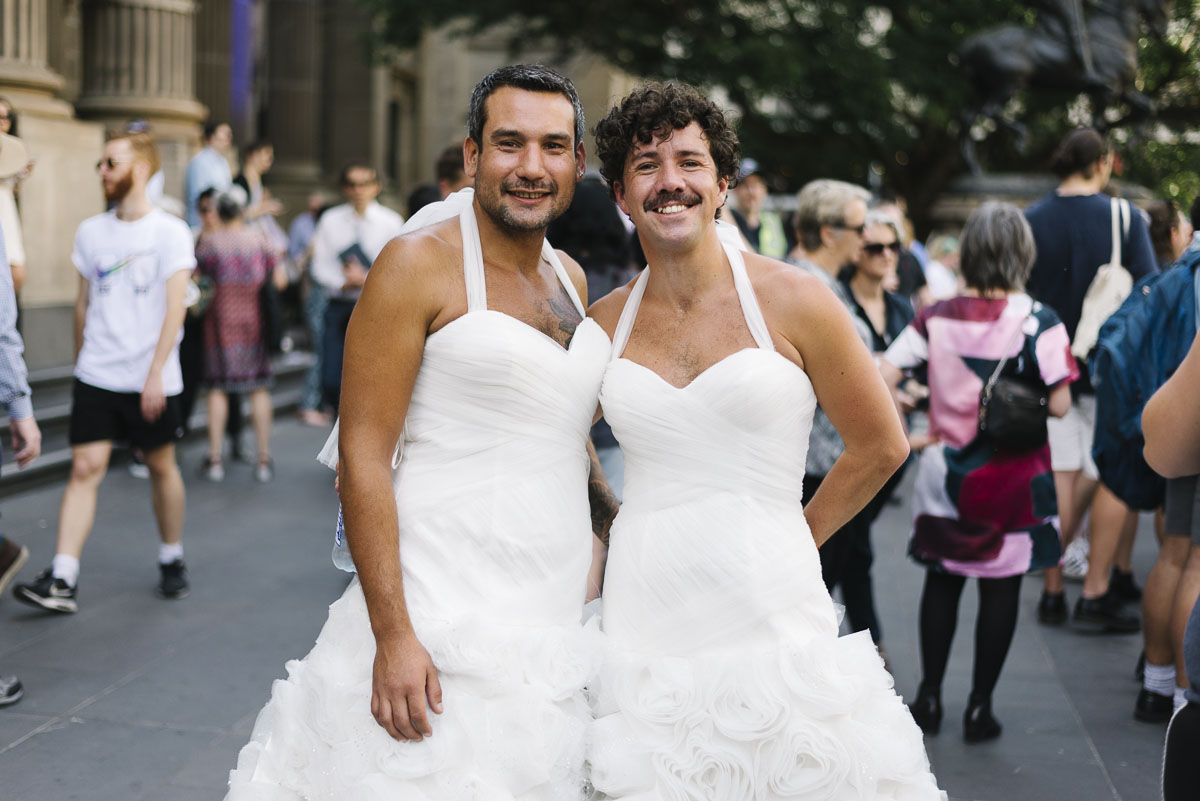 ... our elected representatives have to do their part and make it a fair  and equal bill so that no matter who you are, you can love and marry who  you want.