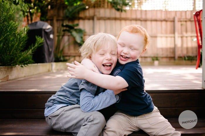 Heath and Archie | Brighton Melbourne Children Portrait Photography