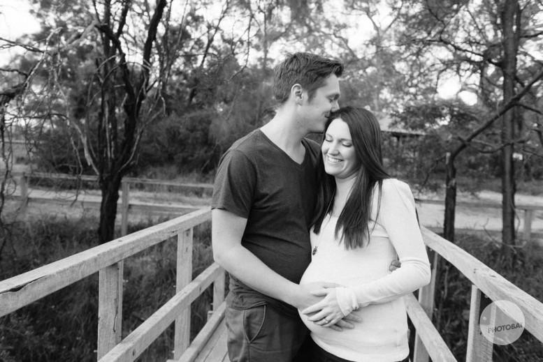 Pregnany Portrait | Pete and Em | Melbourne