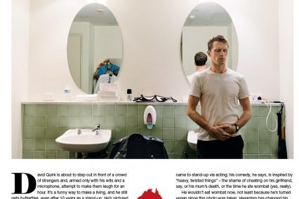 David Quirk | THe Weekend Australian | Media Clipping