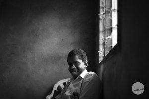 School Boy Vanuatu | Black and White Challenge
