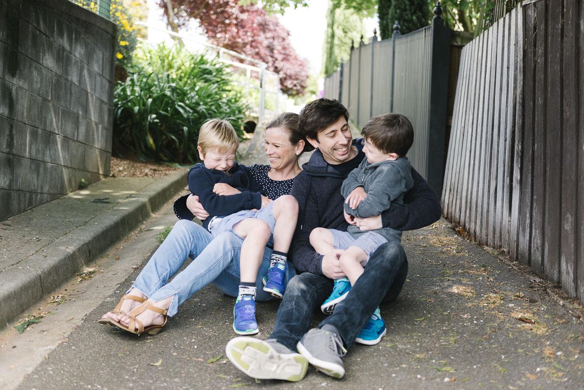 Launceston family portrait bayside beaumaris