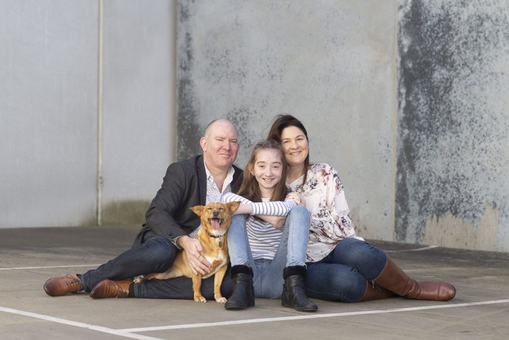 Lloyd Family | Urban Family Portrait | Beaumaris