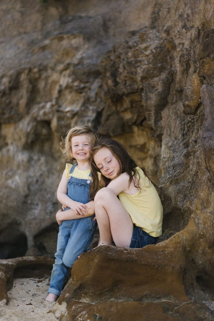 Flo and Verity | Family Portrait | Black Rock