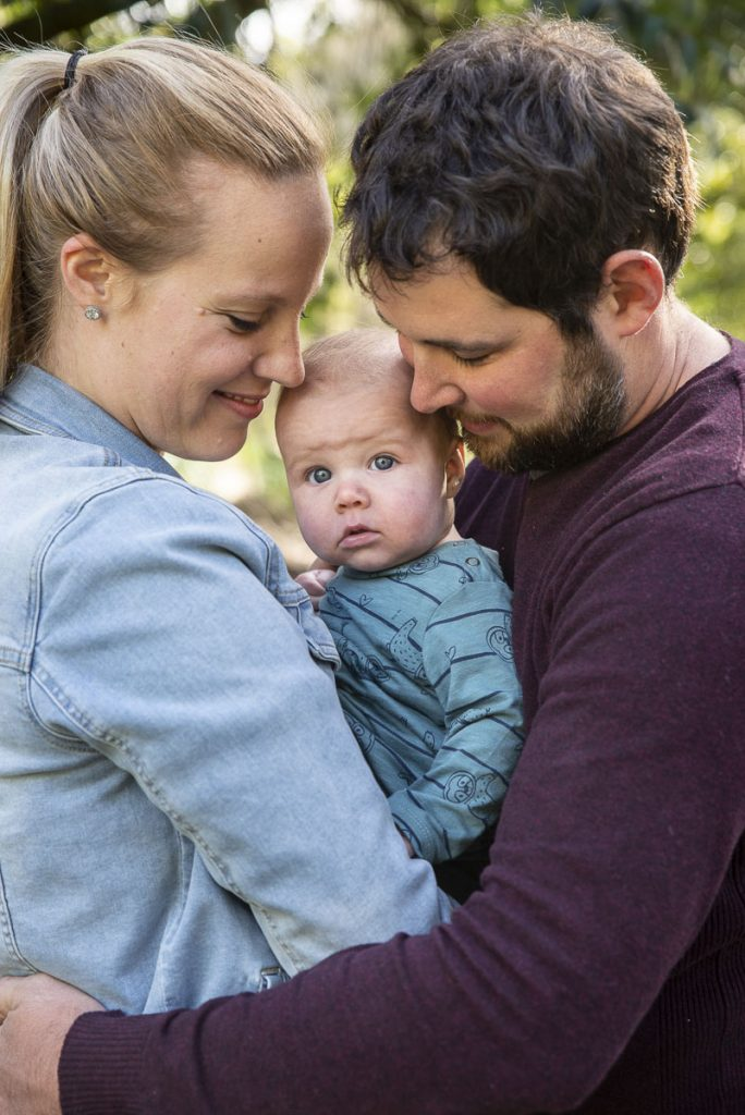 Ezra had ideas… | Family Baby Portrait | Launceston